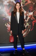 STACY MARTIN at McQueen Premiere in London 06/04/2018