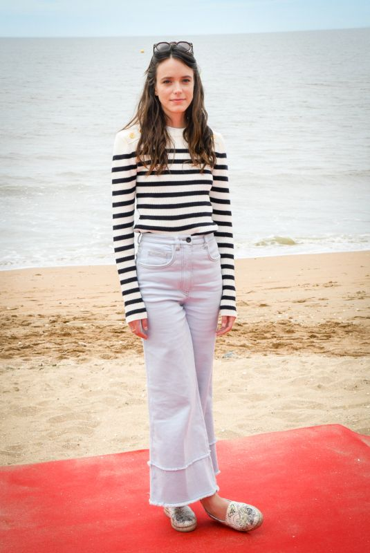 STACY MARTIN at Roulez Jeunesse Photocall at 31st Cabourg Film Festival 06/16/2018