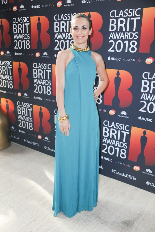 STEFANIA PASSAMONTE at Classic Brit Awards in London 06/13/2018
