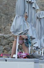STEPHANIE PRATT at a Beach in Mykonos 06/18/2018