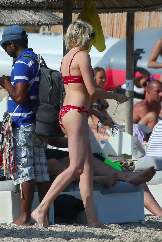 STEPHANIE PRATT in Bikini on Vacation in Mykonos 06/20/2018