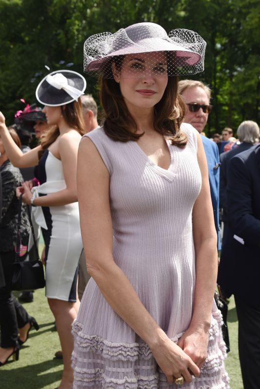 STEPHANIE SEYMOUR at Prix de DIane Longines 2018 in Chantilly 06/17/2018