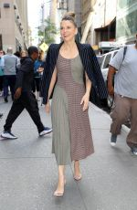 SUTTON FOSTER Arrives at Today Show in New York 06/05/2018
