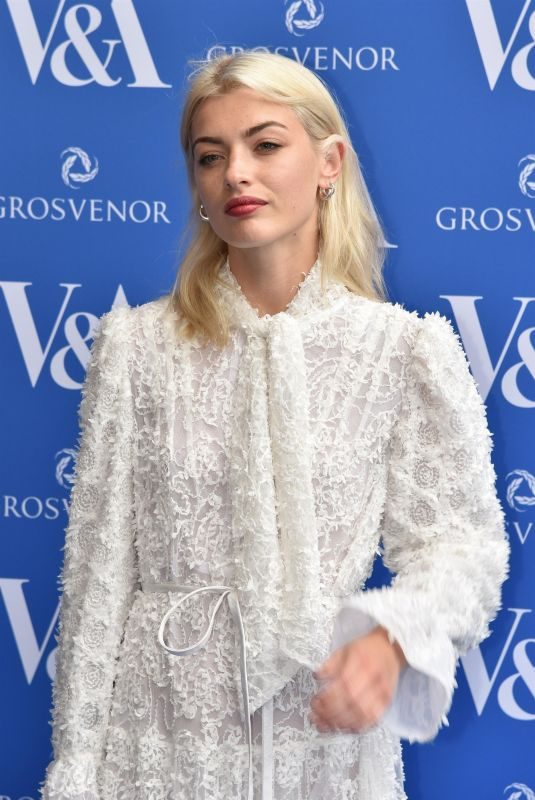 SYDNEY LIMA at Victoria and Albert Museum Summer Party in London 06/13/2018