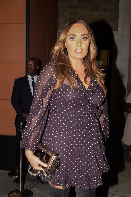 TAMARA ECCLESTONE Leaves Zuma Restaurant in Chelsea 06/05/2018