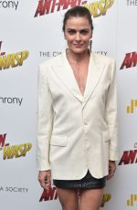 TARA WESTWOOD at Ant-man and the Wasp Premiere in New York 06/27/2018