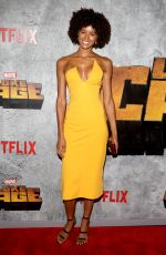TARAH RODGERS at Luke Cage Series Premiere in New York 06/21/2018
