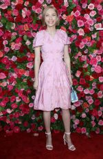 TAVI GEVINSON at 2018 Tony Awards in New York 06/10/2018