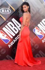 TAYLOR BROOKS at 2018 NBA Awards at Barker Hangar in Santa Monica 06/25/2018
