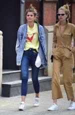 TAYLOR HILL and DAPHNE GROENEVELD Out in New York 06/08/2018