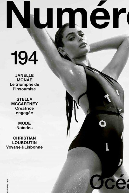 TAYLOR HILL in Numero Magazine, June 2018
