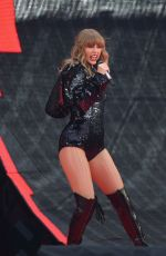 TAYLOR SWIFT Performs at Her Reputation Tour at Etihad Stadium in Manchester 06/08/2018