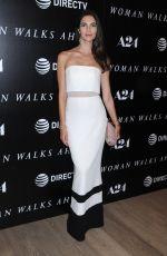 TERESA MOORE at Woman Walks Ahead Special Screening in New York 06/26/2018
