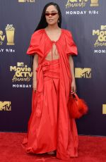 TESSA THOMPSON at 2018 MTV Movie and TV Awards in Santa Monica 06/16/2018