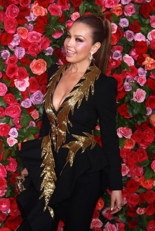 THALIA at 2018 Tony Awards in New York 06/10/2018