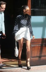 THANDIE NEWTON Leaves Her Hotel in New York 06/14/2018