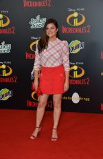 TIFFANI THIESSEN at Incredibles 2 Premiere in Hollywood 06/05/2018