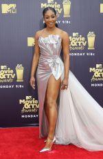 TIFFANY HADDISH at 2018 MTV Movie and TV Awards in Santa Monica 06/16/2018