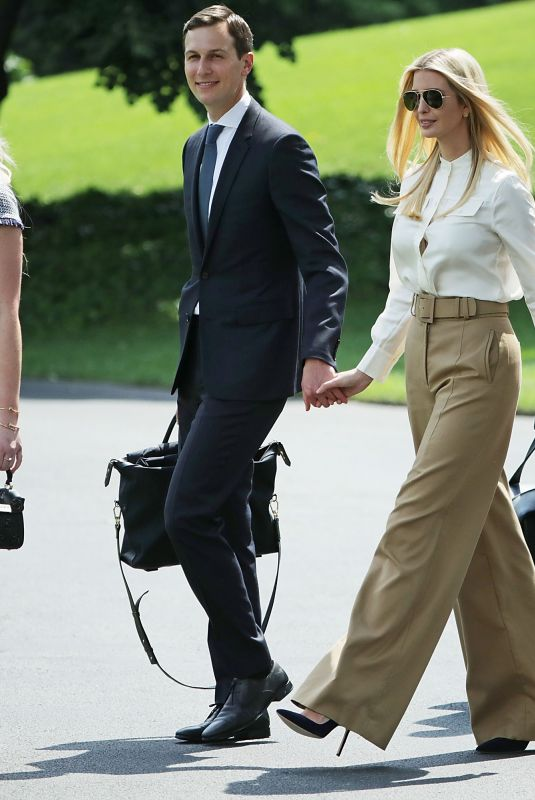 TIFFANY TRUMP Leaves White House in Washington, D.C. 06/01/2018