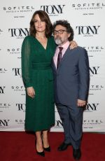TINA FEY at Tony Honors Cocktail Party in New York 06/04/2018