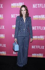 TINA FEY at Unbreakable Kimmy Schmidt FYC Event in New York 06/03/2018