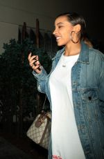 TINASHE at Delilah Nightclub in West Hollywood 06/16/2018