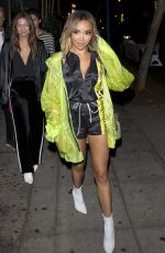TINASHE at Delilah Nightclub in West Hollywood 06/23/2018