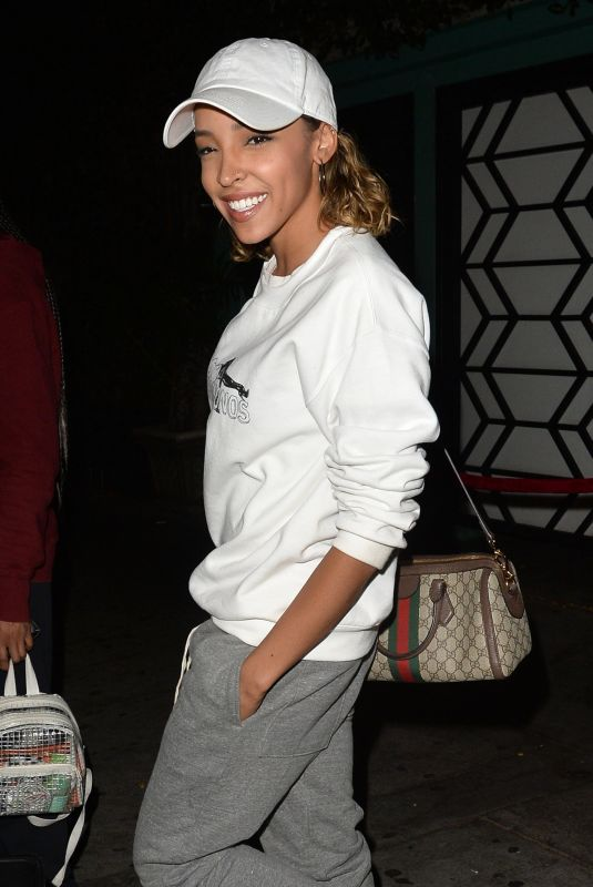 TINASHE at Peppermint Nightclub in West Hollywood 06/18/2018