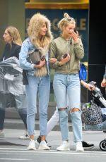 TONI GARRN and ALINA BAIKOVA Out in New York 06/08/2018