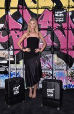 TONI GARRN at Montblanc Event at Pitti 94 in Florence 06/14/2018