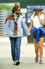 TONI GARRN Out and About in New York 06/27/2018