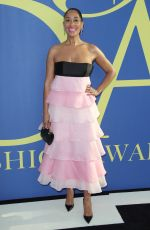 TRACEE ELLIS ROSS at CFDA Fashion Awards in New York 06/05/2018