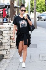 TULISA CONTOSTAVLOS at Starbucks in West Hollywood 05/31/2018