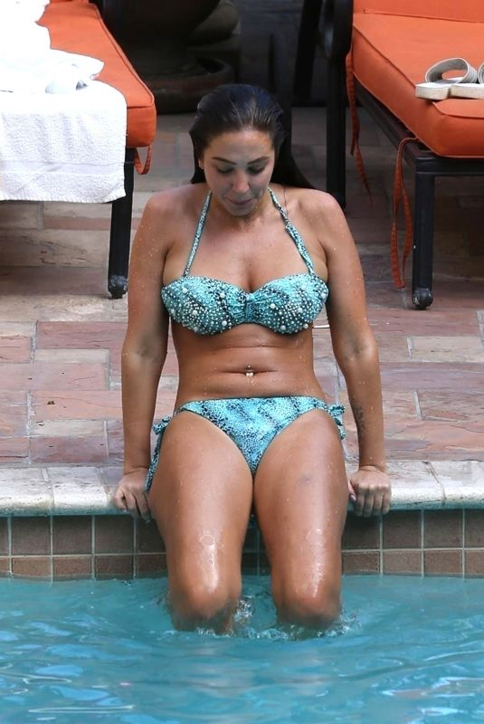 TULISA CONTOSTAVLOS in Bikini at a Pool in Los Angeles 06/01/2018