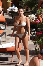 TULISA CONTOSTAVLOS in Bikini at a Pool in Los Angeles 06/06/2018