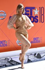 TYRA BANKS at BET Awards in Los Angeles 06/24/2018