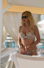 VALERIA MARINI in Bikini at a Beach in Forte Dei Marmi 06/17/2018