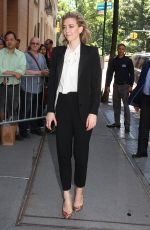 VANESSA KIRBY Arrives at The View in New York 06/14/2018