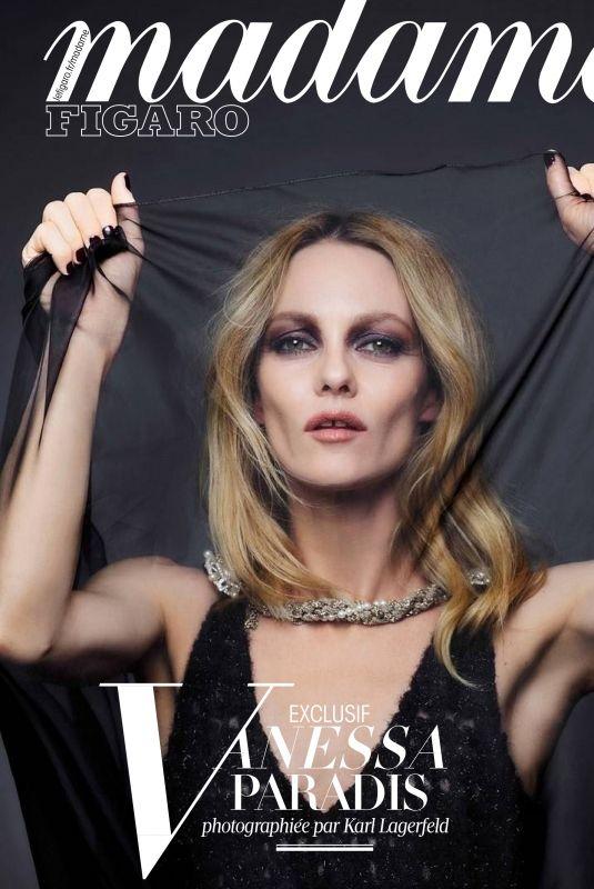 VANESSA PARADIS in Madame Figaro Magazine, June 2018 Issue