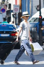 VANESSA PARADIS Out in Paris 06/26/2018