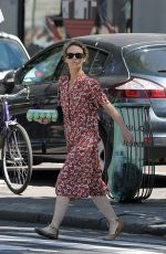 VANESSA PARADIS Out Shopping in Paris 06/25/2018
