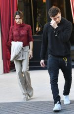 VICTORIA and Brooklyn BECKHAM Leaves Their Hotel in Paris 06/22/2018