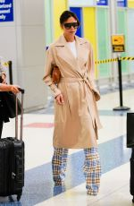 VICTORIA BECKHAM at JFK Airport in New York 06/17/2018