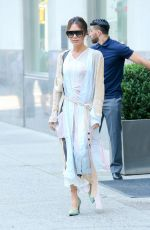 VICTORIA BECKHAM Leaves Her Hotel in New York 06/18/2018