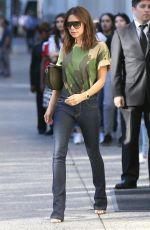 VICTORIA BECKHAM Leaves Her Hotel in New York 06/19/2018