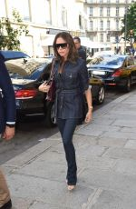 VICTORIA BECKHAM Out and About in Paris 06/22/2018