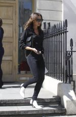 VICTORIA BECKHAM Out in London 06/06/2018