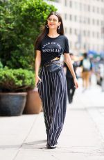 VICTORIA JUSTICE Out and About in New York 06/23/2018