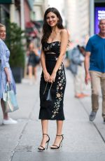 VICTORIA JUSTICE Out and About in New York 06/26/2018