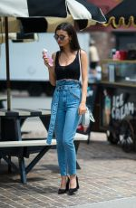 VICTORIA JUSTICE Out Eats Ice Cream in New York 06/22/2018